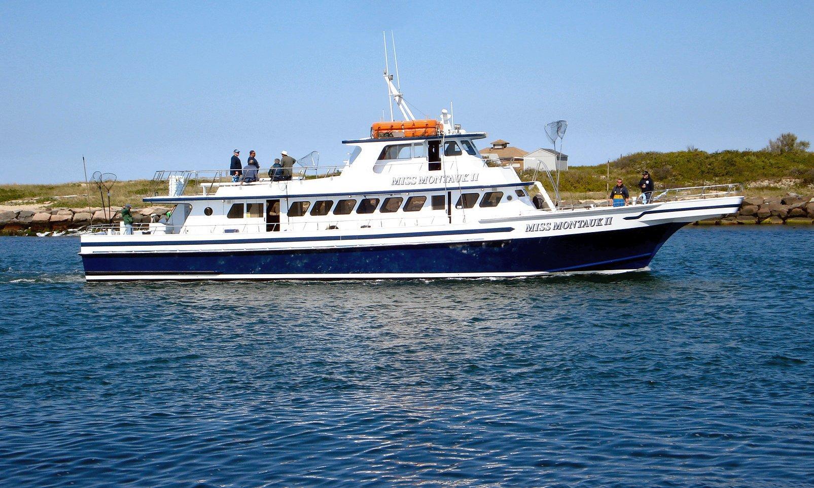 Miss montauk ii fishing boat for Fishing boats ny
